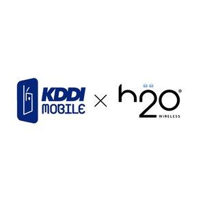 h2o by KDDIロゴ