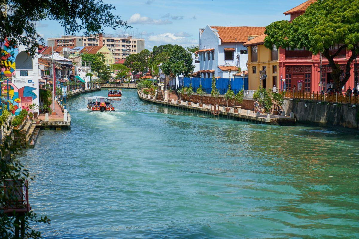 River side in Melaka