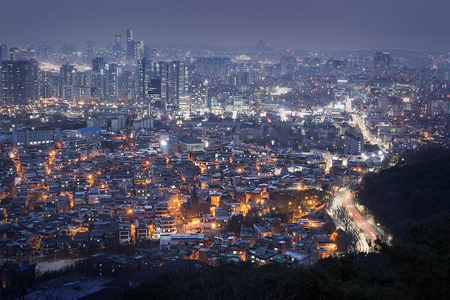 Nソウルタワーから見える夜景